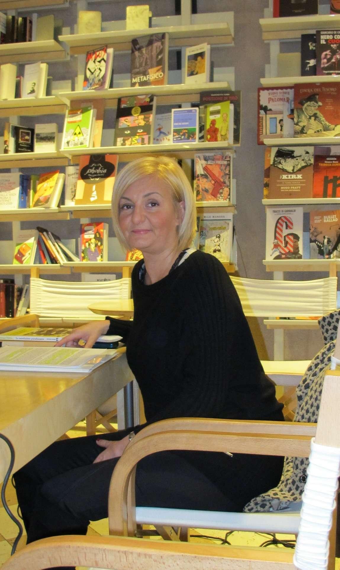 Dott. Sabina Scattola prima della presentazione del libro LA CONSULTAZIONE PSICODINAMICA