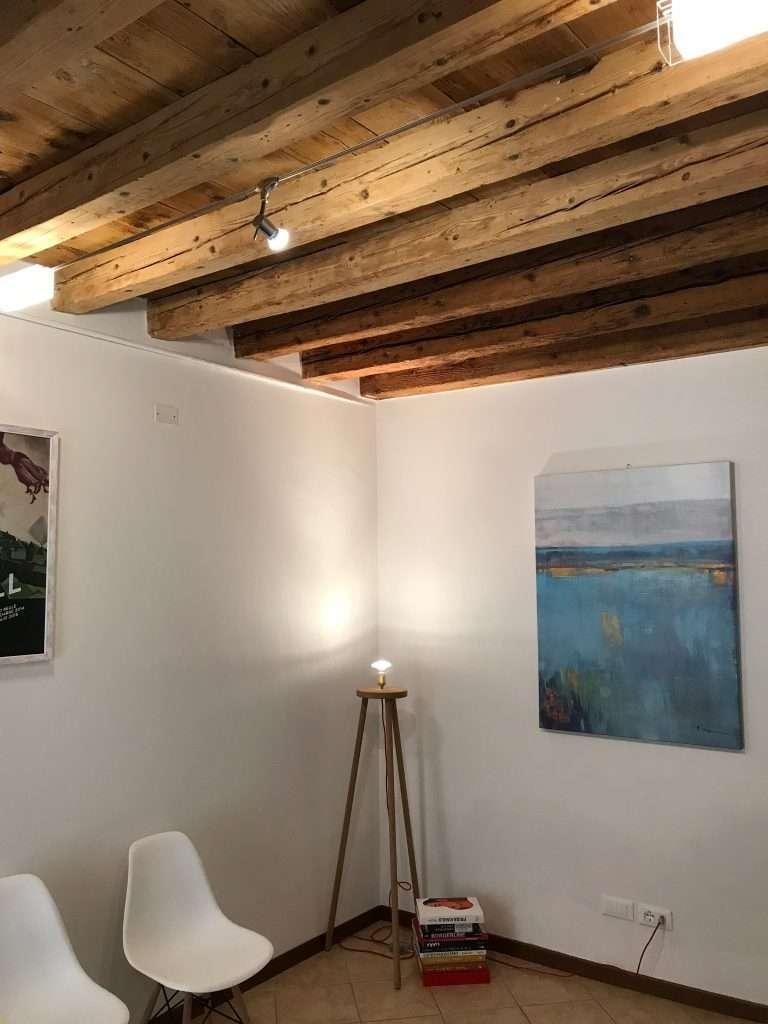 sala d'attesa dello studio di Vicenza